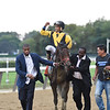 Discreet Lover wins the 2018 Jockey Club Gold Cup<br /> Coglianese Photos/Taylor Ejdys