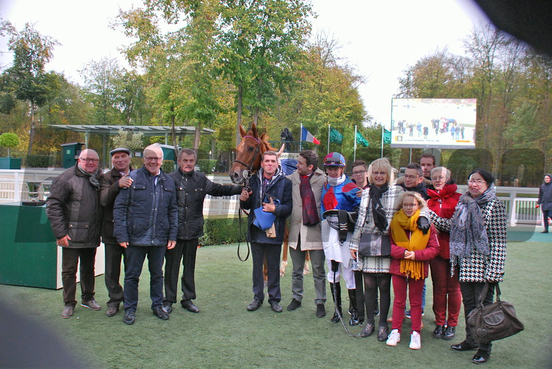 Holdthasigreen, Tony Picone, Prix Royal Oak, G1, Chantilly, October 28, 2018