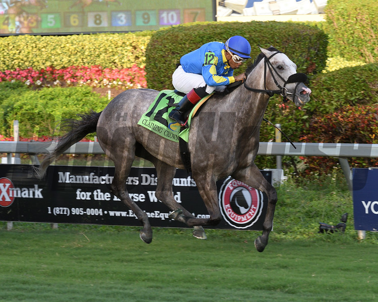 Uncle B wins the 2018 Claiming Crown Emerald at Gulfstream Park<br /> Coglianese Photos/Lauren King