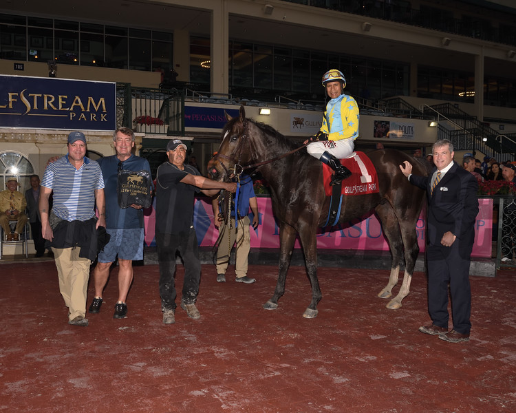 Glorious Empire wins the 2018 Ft. Lauderdale Stakes at Gulfstream Park     <br /> Coglianese Photos