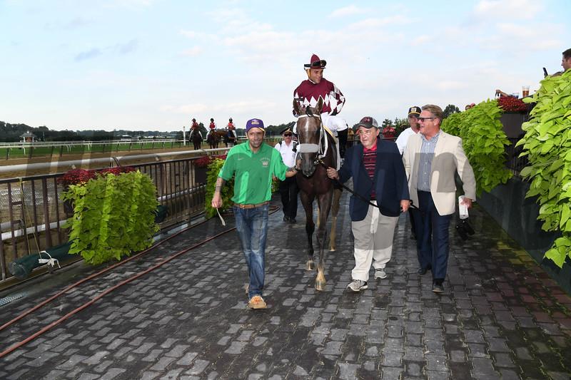 Jaywalk wins the 2018 Frizette Stakes<br /> Coglianese Photos