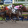 Misschief Maas wins the 2018 Claiming Crown Glass Slipper at Gulfstream Park<br /> Coglianese Photos/Leslie Martin