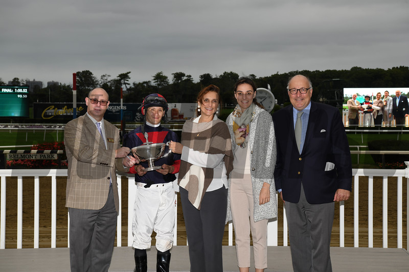 Have At It wins the 2018 Hill Prince Stakes<br /> Coglianese Photos