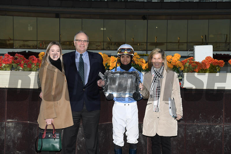 Sassy Agnes wins the 2018 Key Cents Stakes at Aqueduct<br /> Coglianese Photos
