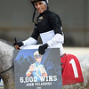John Velazquez 6,000th win Singapore Trader, ALW, Aqueduct, November 30, 2018<br /> Coglianese Photos/Susie Raisher