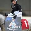 John Velazquez 6,000th win Singapore Trader, ALW, Aqueduct, November 30, 2018<br /> Coglianese Photos/Susie Raisher