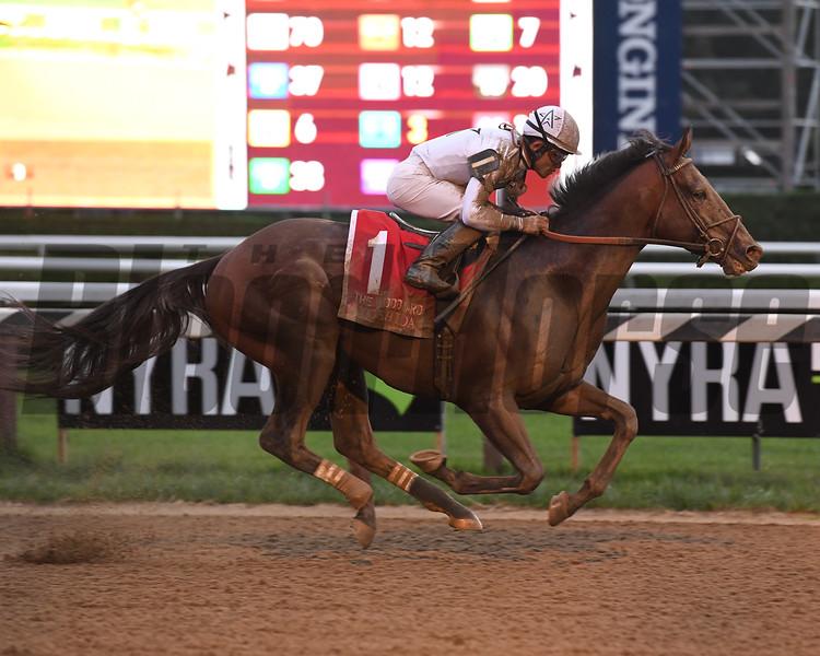 Yoshida wins the Woodward Stakes at Saratoga Saturday, September 1, 2018. Photo: Coglianese Photos/Susie Raisher