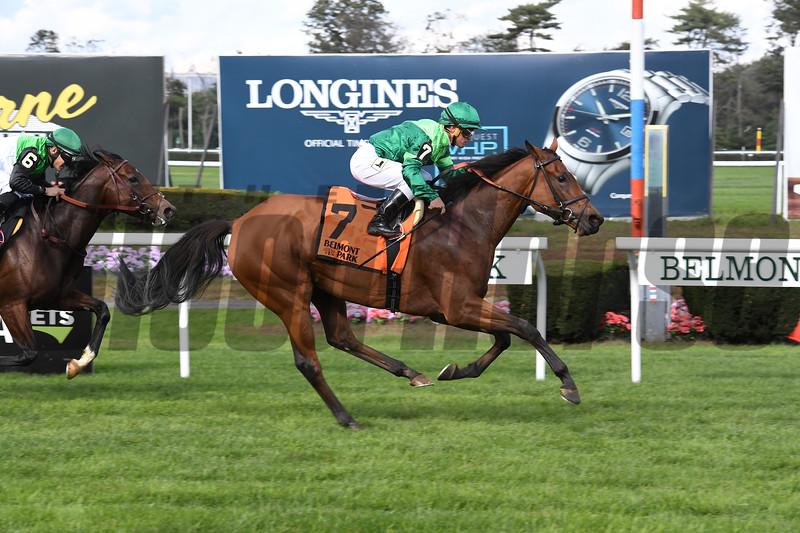 Fifty Five wins the 2018 Ticonderoga Stakes<br /> Coglianese Photos/Susie Raisher