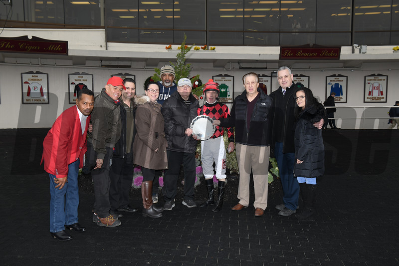 Forgotten Hero wins the 2018 New York Stallion Series Fifth Avenue Division at Aqueduct<br /> Coglianese Photos