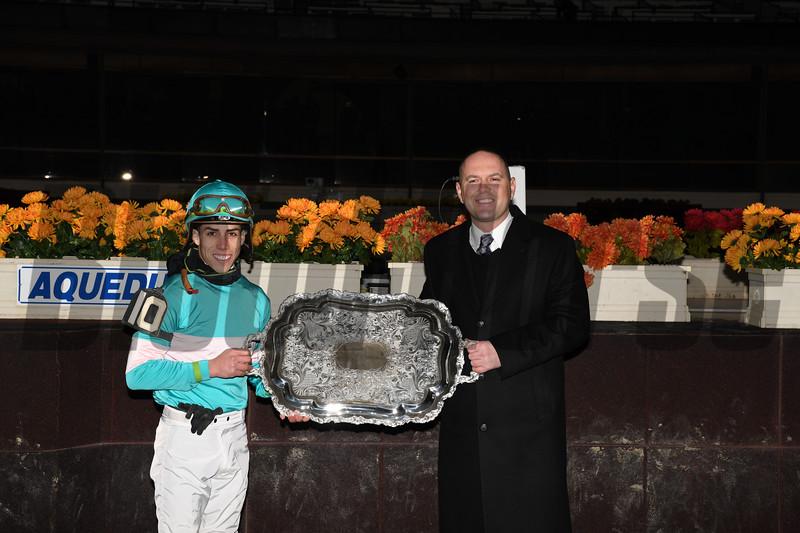 Lady Paname (FR), Irad Ortiz, Jr., Long Island Stakes, $400,000, G3T, Aqueduct Racetrack, November 24, 2018