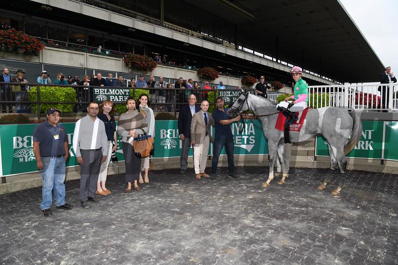Disco Partner wins the 2018 Belmont Turf Sprint Invitational<br /> Coglianese Photos