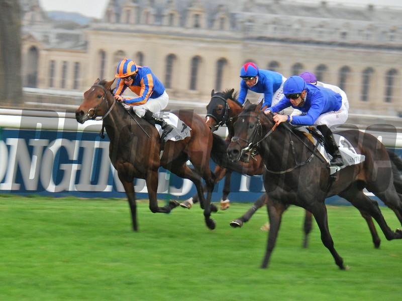 Royal Meeting wins the Criterium International (G1) at Chantilly on October 28; 2018.