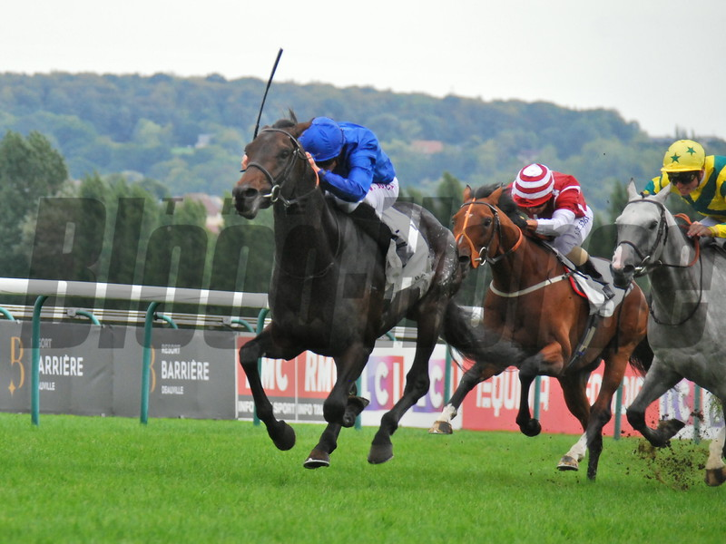 Loxley (IRE), William Buick, Lucien Barriere Grand prix de Deauville, G2, Deauville, August 26, 2018