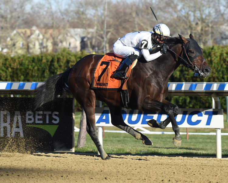 Five Star General wins the 2018 Central Park Stakes<br /> Coglianese Photos