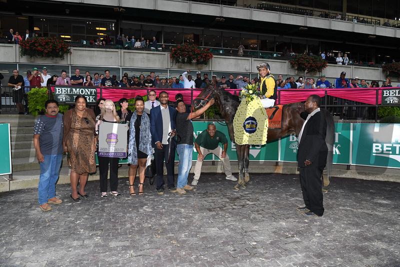 Discreet Lover wins the 2018 Jockey Club Gold Cup<br /> Coglianese Photos