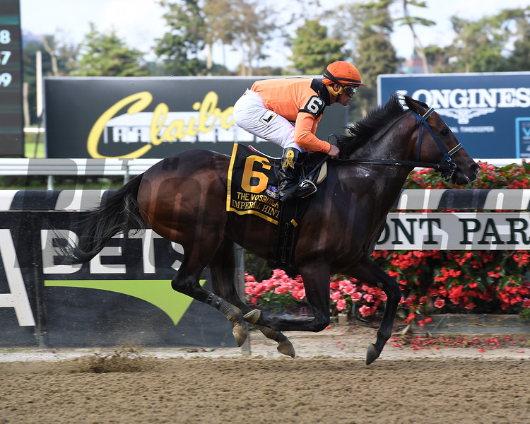 Imperial Hint wins the 2018 Vosburgh Stakes<br /> Coglianese Photos