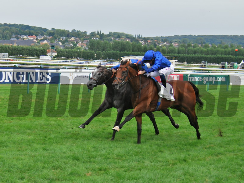 Graphite (FR), Mickael Barzalona, Prix Quincey Barriere, G3, Deauville, August 26, 2018