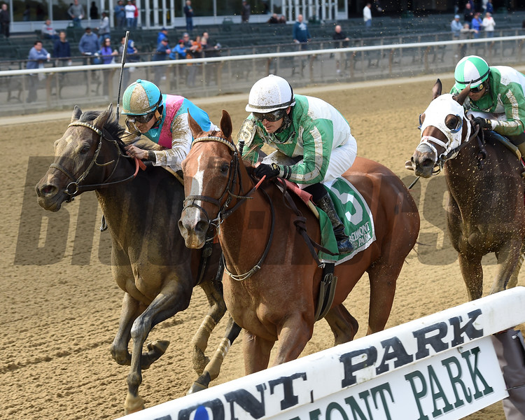 Highway Star wins the 2018 Iroquois Stakes at Belmont Park<br /> Coglianese Photos/Chelsea Durand