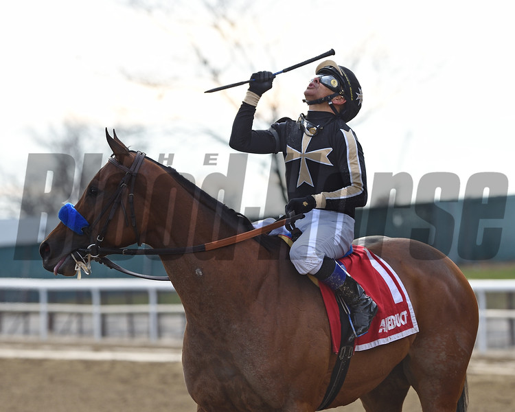 Marley's Freedom wins the 2018 Go for Wand (G3) at Aqueduct<br /> Coglianese Photos/Chelsea Durand
