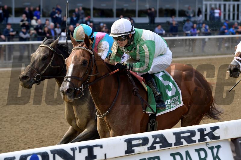 Highway Star wins the 2018 Iroquois Stakes at Belmont Park<br /> Coglianese Photos/Joe Labozzetta
