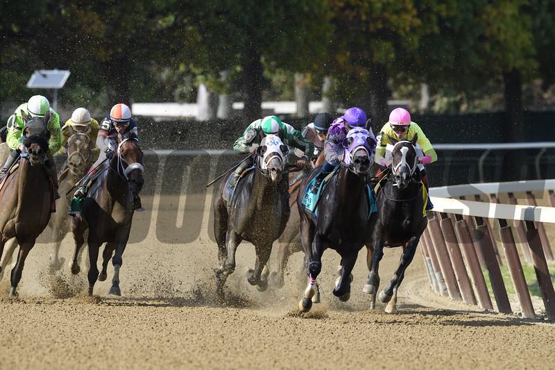 Runaway Lute wins the 2018 Hudson Stakes<br /> Coglianese Photos/Robert Mauhar