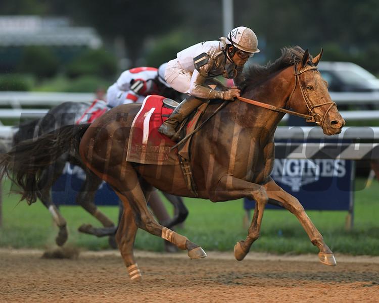 Yoshida wins the Woodward Stakes at Saratoga Saturday, September 1, 2018. Photo: Coglianese Photos