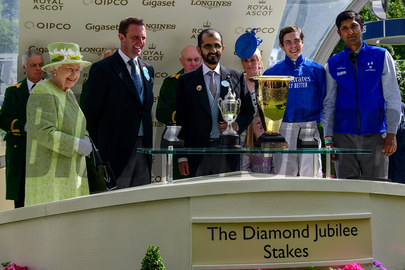 Blue Point and James Doyle win the G1 Diamond Jubilee Stakes, Royal Ascot 6-22-19, Ascot, UK, Mathea Kelley-Bloodhorse