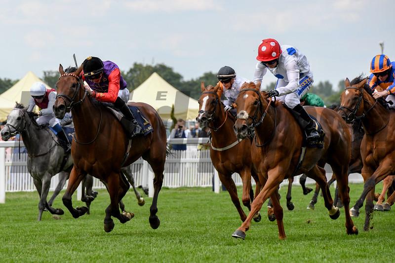 Thanks Be, Haley Turner, win the Sandringham Stakes, 6-21-20, Royal Ascot, Ascot, UK, photo by Mathea Kelley/Bloodhorse