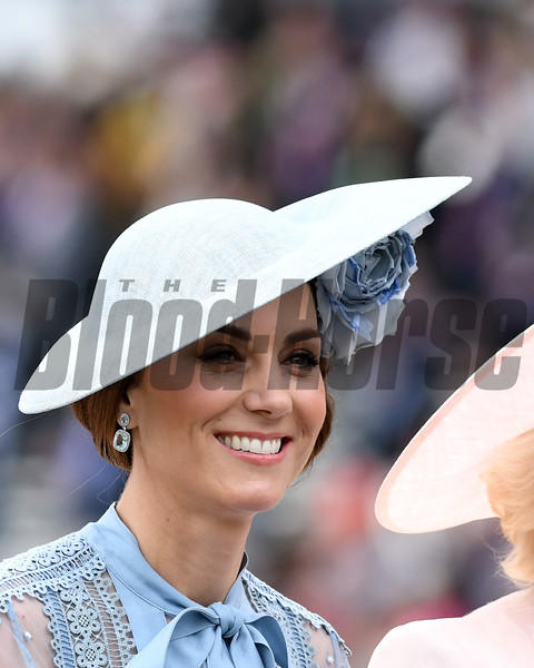 Princess Kate, Fashion and Scenes, 6-18-20, Royal Ascot, Ascot, UK, Mathea Kelley/Bloodhorse
