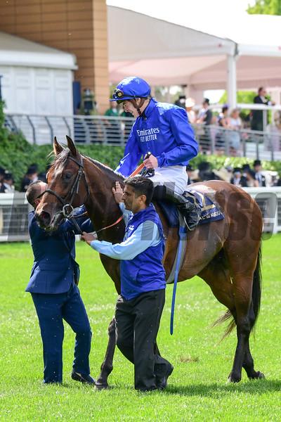 Pinatubo and James Doyle Win the Chesham Stakes, Royal Ascot 6-22-19, Ascot, UK, Mathea Kelley-Bloodhorse