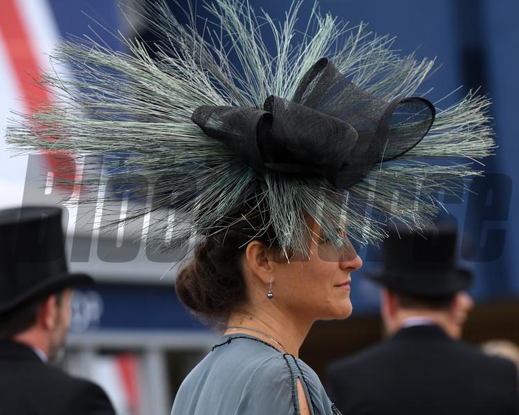 Fashion and Scenes, 6-19-20, Royal Ascot, Ascot, UK, Mathea Kelley/Bloodhorse