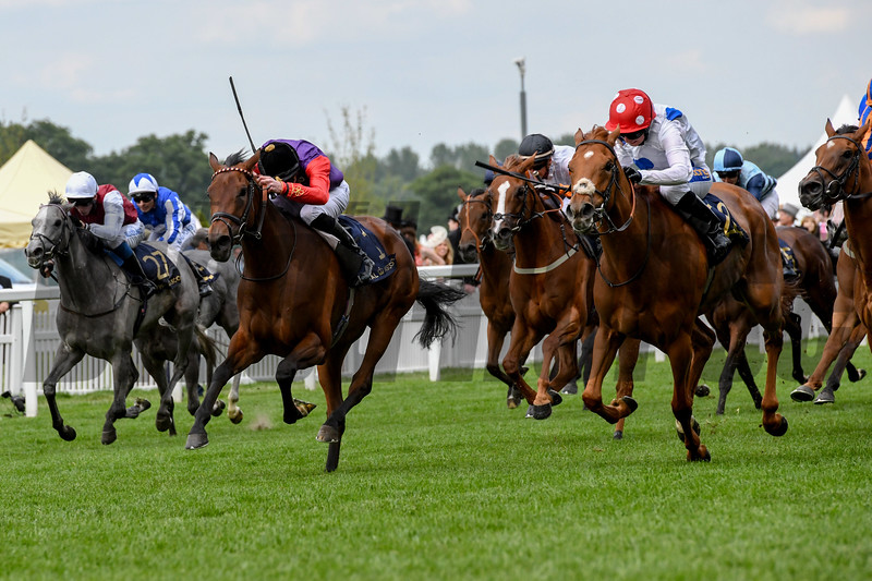 Thanks Be, Haley Turner, win the Sandringham Stakes, 6-21-20, Royal Ascot, Ascot, UK, photo by Mathea Kelley/Bloodhorse