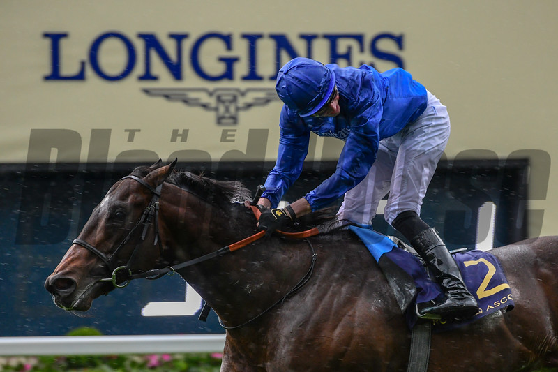 Blue Point wins the 2019 King's Stand Stakes at Royal Ascot<br /> Mathea Kelley Photo