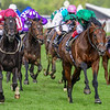 Baghdad and Ryan Moore win The Duke of Edinburgh Stakes, 6-21-20, Royal Ascot, Ascot, UK, photo by Mathea Kelley/Bloodhorse