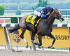 Music Note wins the Mother Goose at Belmont Park, 2008<br /> Coglianese Photos