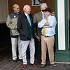 W. S. Farish talks in the paddock before the Kentucky Derby at Churchill Downs on Derby Day on May 4, 2019 in Louisville, Ky. Photo: Arden Barnes