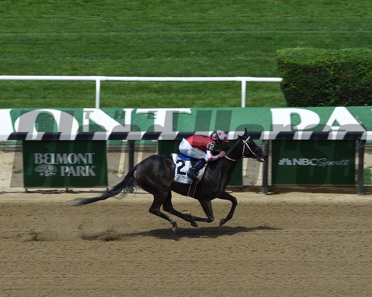 Midnight Bisou wins the 2019 Ogden Phipps Stakes<br /> Coglianese Photos/Janet Garaguso