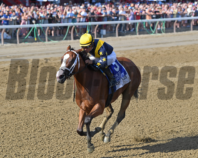 Covfefe wins the 2019 Test Stakes at Saratoga<br /> Coglianese Photos/Chelsea Durand