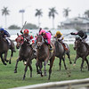 Zulu Alpha wins the 2019 W. L. McKnight Stakes at Gulfstream Park<br /> Coglianese Photos/Adam Mooshian