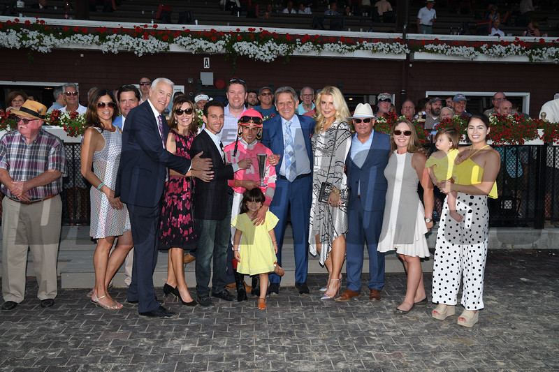 Tax wins the 2019 Jim Dandy Stakes at Saratoga. Photo: Coglianese Photos