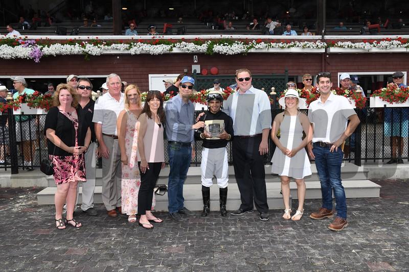 My Italian Rabbi wins the 2019 Stillwater Stakes at Saratoga<br /> Coglianese Photos