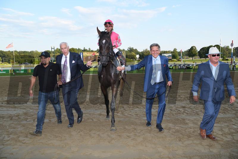Tax wins the 2019 Jim Dandy Stakes at Saratoga. Photo: Coglianese Photos