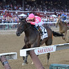 Tax wins the Jim Dandy Stakes Saturday, July 27, 2019 at Saratoga. Photo: Coglianese Photos/Joe Labozzetta