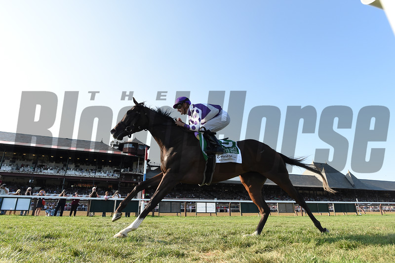 Concrete Rose wins the 2019 Saratoga Oaks Invitational Stakes<br /> Coglianese Photos