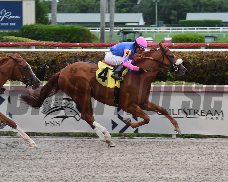 Royal Mistress - Maiden Win, Gulfstream Park, August 10, 2019<br /> Coglianese Photos/Lauren King