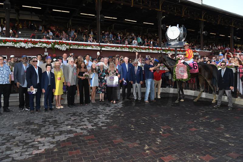 McKinzie wins the 2019 Whitney Stakes at Saratoga. Photo: Coglianese Photos