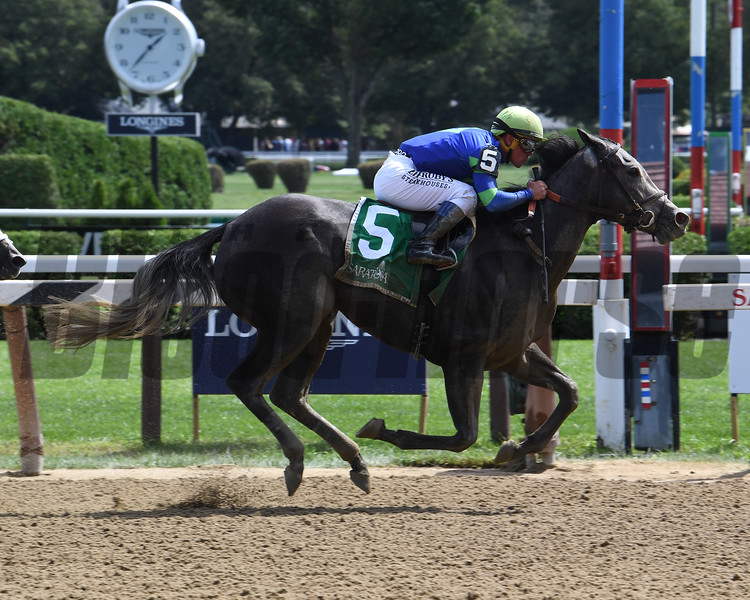 Royal Charlotte wins the 2019 Prioress Stakes at Saratoga<br /> Coglianese Photos/Susie Raisher