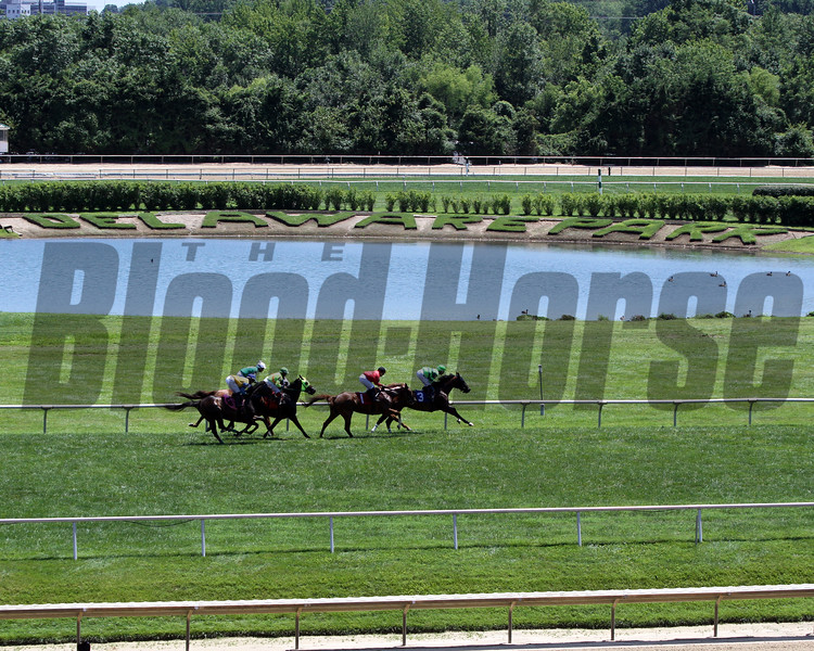 Delaware Park racing on July 13, 2019. Photo By: Chad B. Harmon
