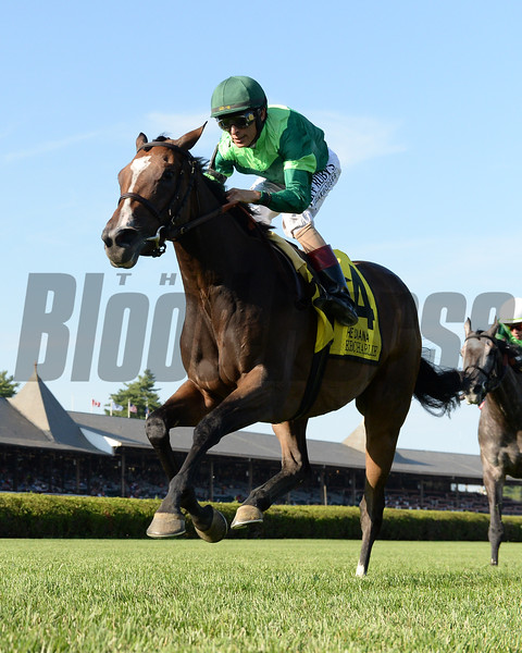 Sistercharlie wins the 2019 Diana Stakes at Saratoga<br /> Coglianese Photos