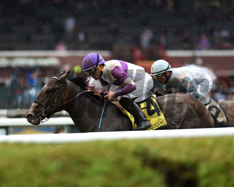Listing wins the 2019 Quick Call Stakes at Saratoga<br /> Coglianese Photos/Elsa Lorieul